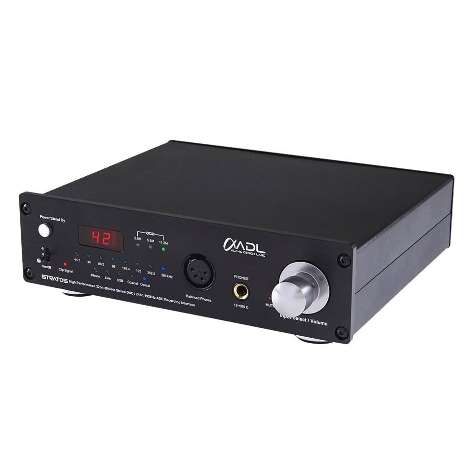 FURUTECH ADL STRATOS DAC / ADC Préamplificateur phono MM/MC Ampli casque symétrique DSD