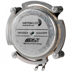 DAYTON AUDIO DAEX32Q-8 Haut-Parleur Vibreur Exciter 20W 8 Ohm Ø 3.2cm
