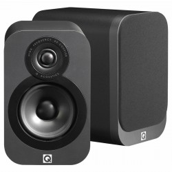 Q acoustics 3010 Bookshelf Speakers Graphite Black (pair)