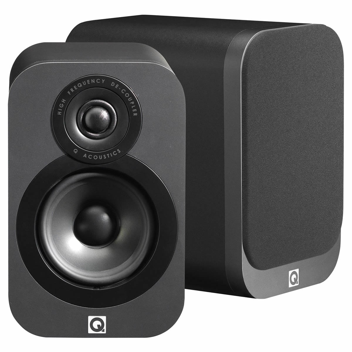 Q acoustics 3010 Bookshelf Speakers Graphite Black (pair)