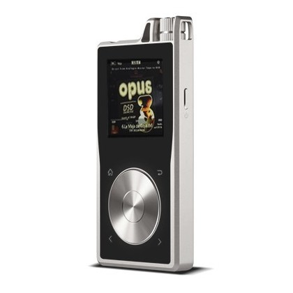 Questyle QP1 DAP / Digital Audio player 24bit 192kHz DSD 16 Go Silver