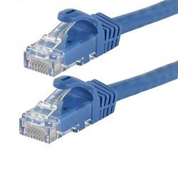 Câble patch Réseau RJ45 Catégorie 6 contacts plaqué Or 3m