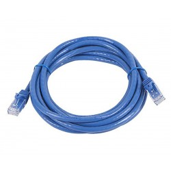 Ethernet Network patch RJ45 cable Categorie 6 Gold plated contacts 3m