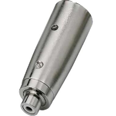 Adapter XLR male to RCA female metal body