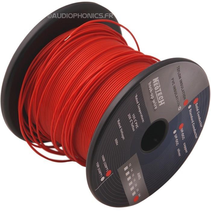 NEOTECH STDCT-24 Fil de câblage multi brins UP-OCC PTFE 0.2mm²