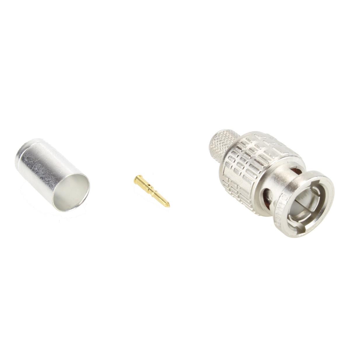 CANARE BCP-B5F High performance 75 Ohm BNC Crimp Plug Ø5mm