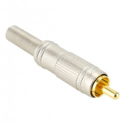 CANARE F-09 High performance RCA Plug Ø 6mm (Unit)