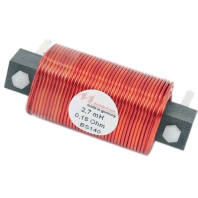 MUNDORF BS140 WIRE COIL Bobine Cuivre Noyau Feron 3.3mH