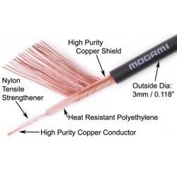 MOGAMI 2330 Câble de modulation Asymétrique Ø 3mm
