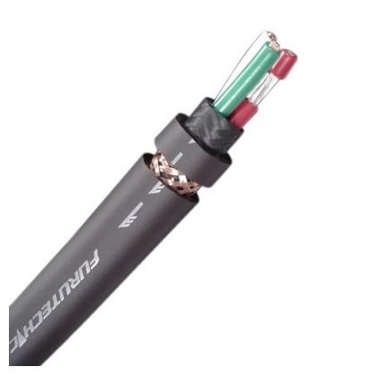 FURUTECH FP-314Ag II 2 Câble Secteur Cuivre / Argent OFC 3x2mm² Ø 13mm