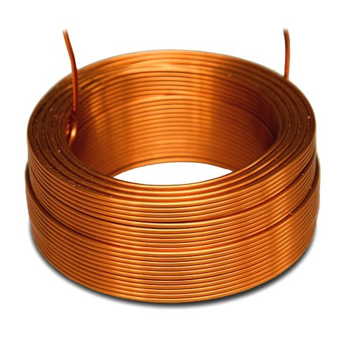 JANTZEN AUDIO 000-0040 Air Core Wire Coil - 4N Copper 14AWG 6.80mH 79x60mm