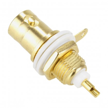 ELECAUDIO EB-104 BNC Plated Gold Plated 50 Ohm (Unit)