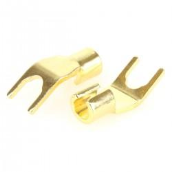 Hicon HI-CTA01 Spade Plug 45° Ø 5.5mm (Unité)