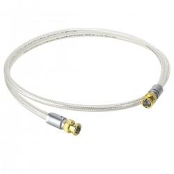OYAIDE DB-510 Coaxial BNC Cable 75 Ohm Silver 1m (Unit)