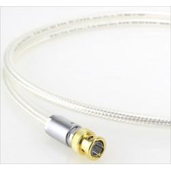 OYAIDE DB-510 Câble Numérique Coaxial BNC 75 Ohm Argent 1m (Unité)