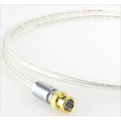 OYAIDE DB-510 Coaxial BNC Cable 75 Ohm Silver 1m (Unit)