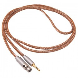 1877 PHONO Cali Copper Câble de modulation Casque Jack 3.5mm / Mini XLR 1.8m