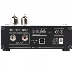 HIFIMAN EF2C DAC / High fidelity Vacuum tubes Hybrid Headphone Amplifier