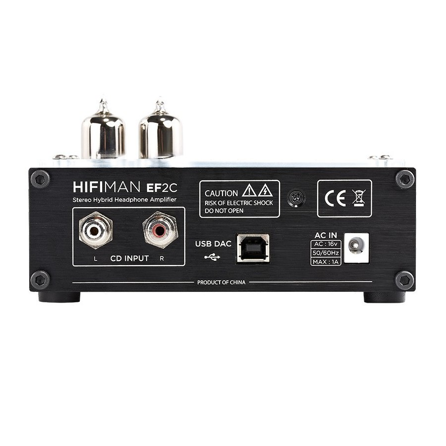 Hifiman ef2c dac amplificateur casque tubes hybride for Haute fidelite