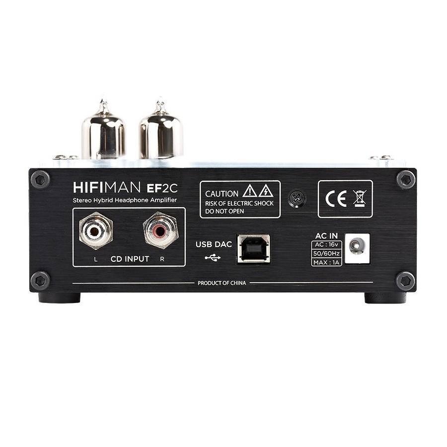 Hifiman Ef2c Dac High Fidelity Vacuum Tubes Hybrid Headphone Hi Fi Amplifier