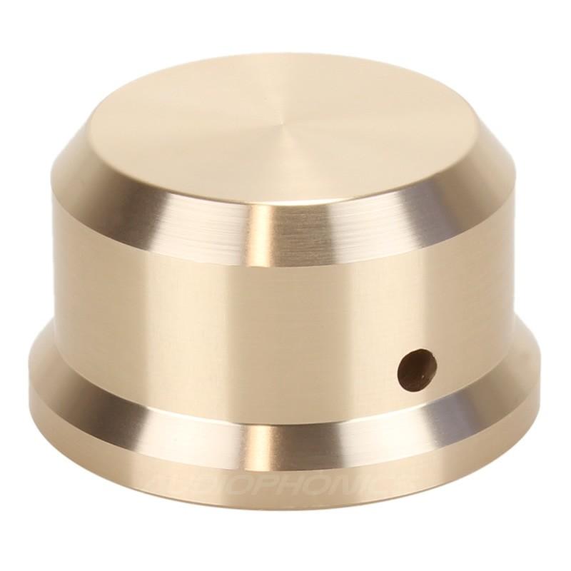 Bouton Aluminium pour potentiomètre 38x22mm Axe méplat Ø 6mm