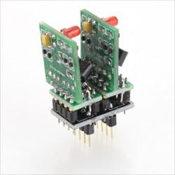 Full discrete dual HDAM OP Amp tube like DIP8 (Unit)