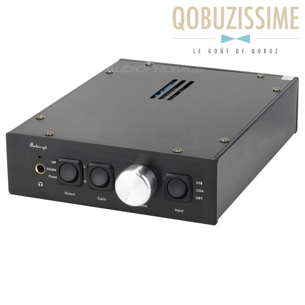 AUDIO-GD NFB-15 (2014) DAC / Preamp / Ampli 24bit/192kHz 2x WM8741 TCXO