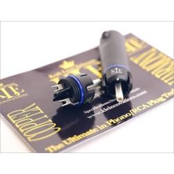 KLEI Harmony Copper Connecteur RCA Cuivre pur plaqué Argent Ø 9.5mm