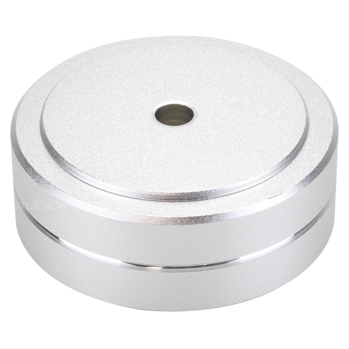 Aluminium damping feet Silver 40x15mm M4.5 (Unité)