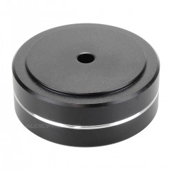 Aluminium Damping Foot 40x15mm M4.5 Black (Unit)