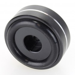 Aluminium damping feet Black 40x15mm M4.5 (Unité)
