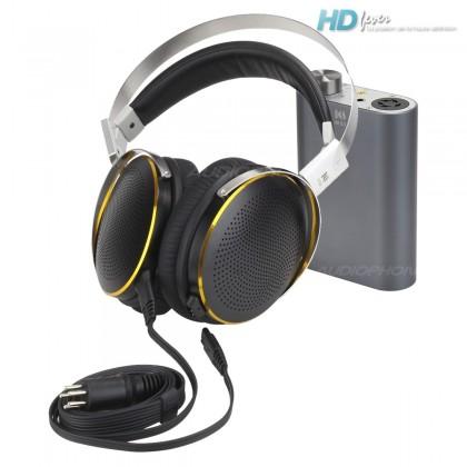 Pack KINGSOUND M-03 Portable Amplifier & KS-H4 ESL Headphone Black/Titanium