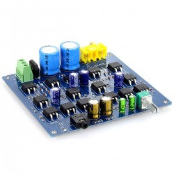 Stereo Headphone Mosfet Amplifier DIY module board