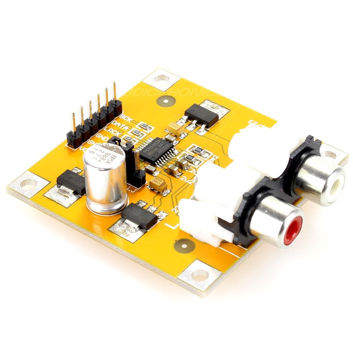 DAC PCM5102 I2S 32bit/384kHz Raspberry PI