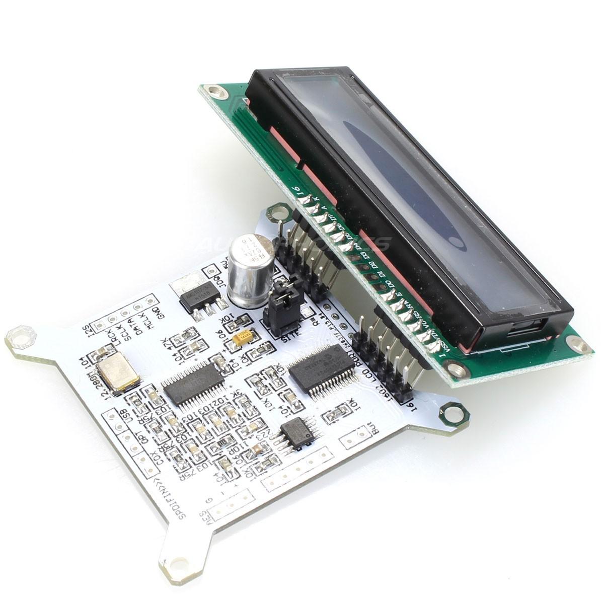 SPDIFx3 + AES/EBU input selector to I2S