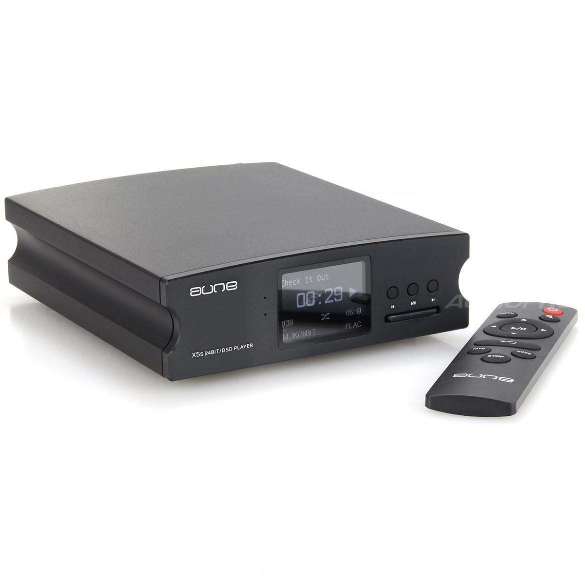 AUNE X5s Lecteur de fichiers Audio Haute définition 24bit DSD (CPLD) Noir