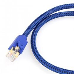 FURUTECH LAN 10G câble RJ45 6A Cuivre OCC plaqué Argent 0.6m