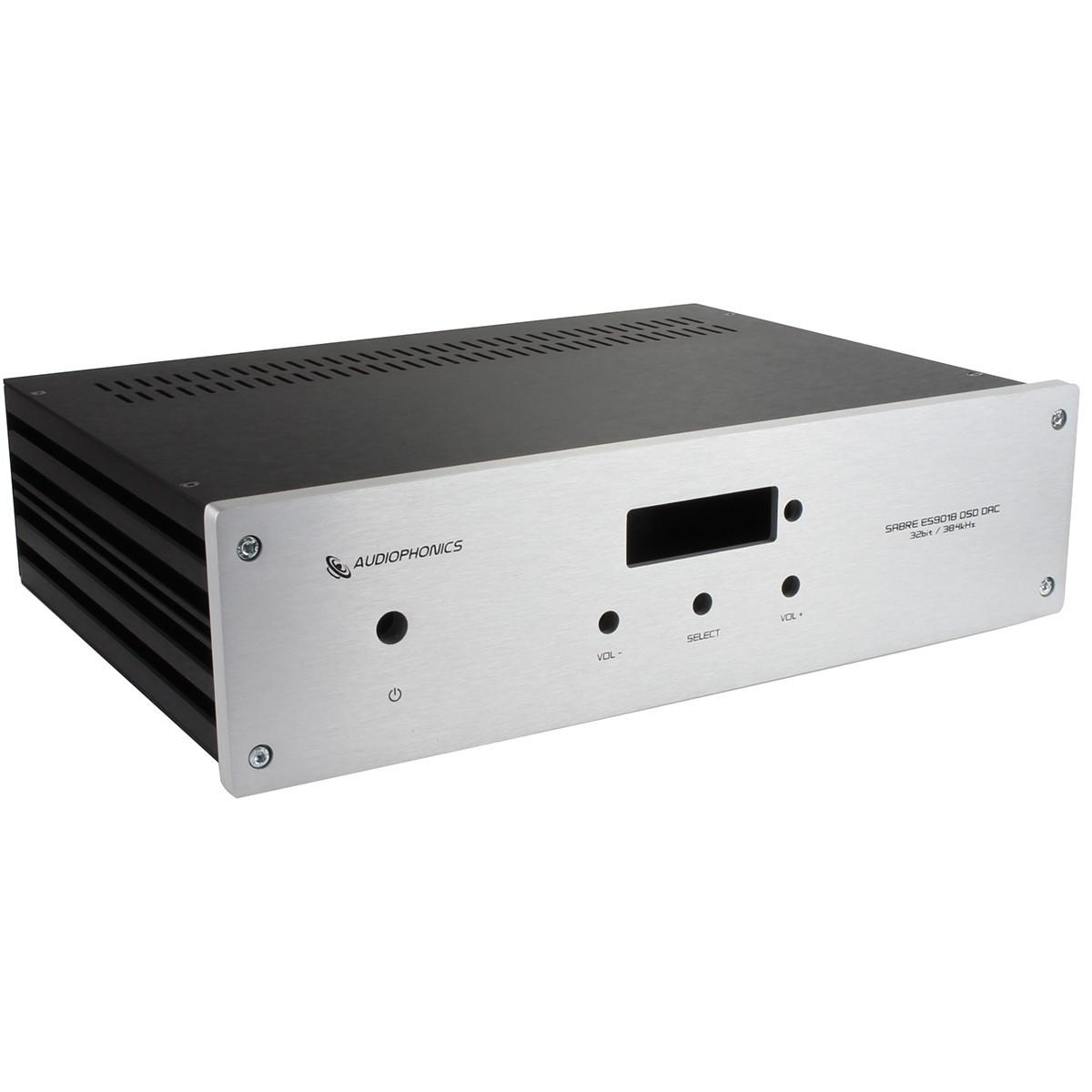 DAC U-Sabre ES9018 & Raspberry Pi 3 Aluminium Box / Case 330x230x80mm