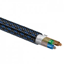 PANGEA AC-14 C7- Câble secteur triple Blindage OFC 3x2mm² 2m