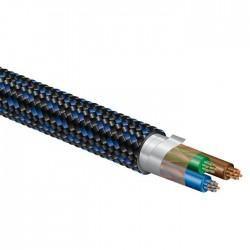 PANGEA AC-14 C7- Câble secteur triple Blindage OFC 3x2mm² 3.0m
