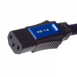PANGEA AC-14 IEC- Câble secteur triple Blindage OFC 3x2mm² 2.0m