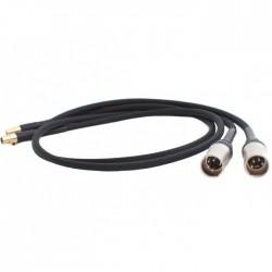 AUDIO-GD Câble de Modulation ACSS Mini XLR / XLR 1m (La paire)