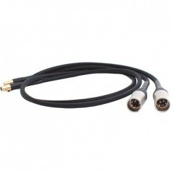 AUDIO-GD Câble de Modulation ACSS Mini XLR / XLR 4p 1m (La paire)