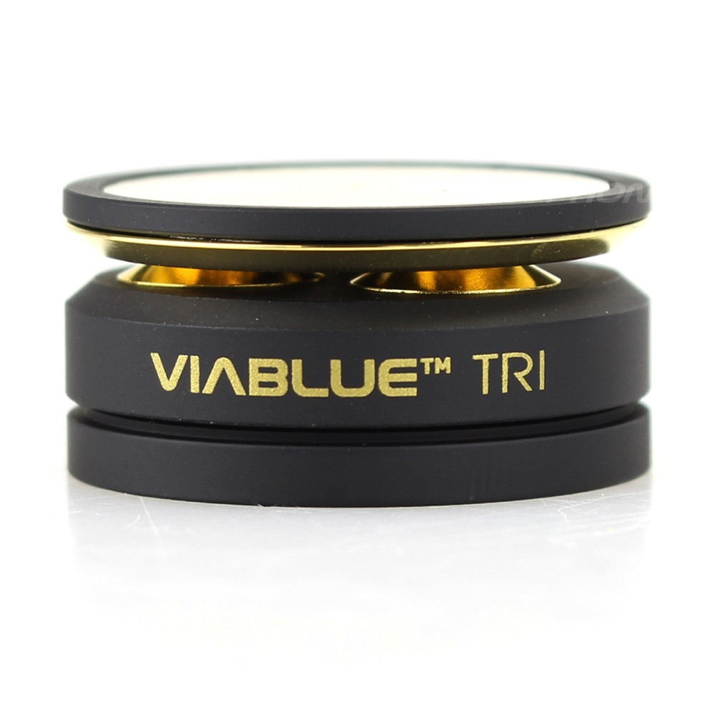 VIABLUE TRI BLACK Black Decoupling Tips (Set x4)