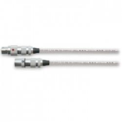 OYAIDE AR-910 Câble Modulation XLR Argent Pur 5N 0.70m (la paire)