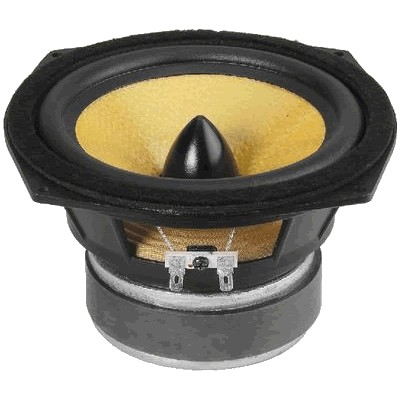 Monacor SPH-165KEP Speaker Driver Midbass 60W 8 Ohm 89dB Ø 16.5cm
