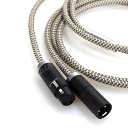 1877PHONO FUSION PURE MKII Câble de Modulation XLR-XLR 1.5m (la Paire)