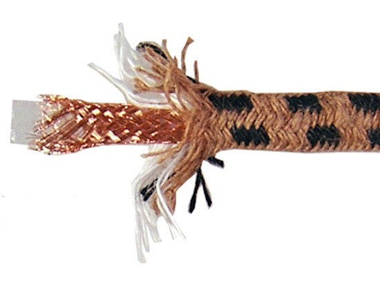 NEOTECH BRDCC-24 Fil de câblage plat tressé UP-OCC 0.20 mm2