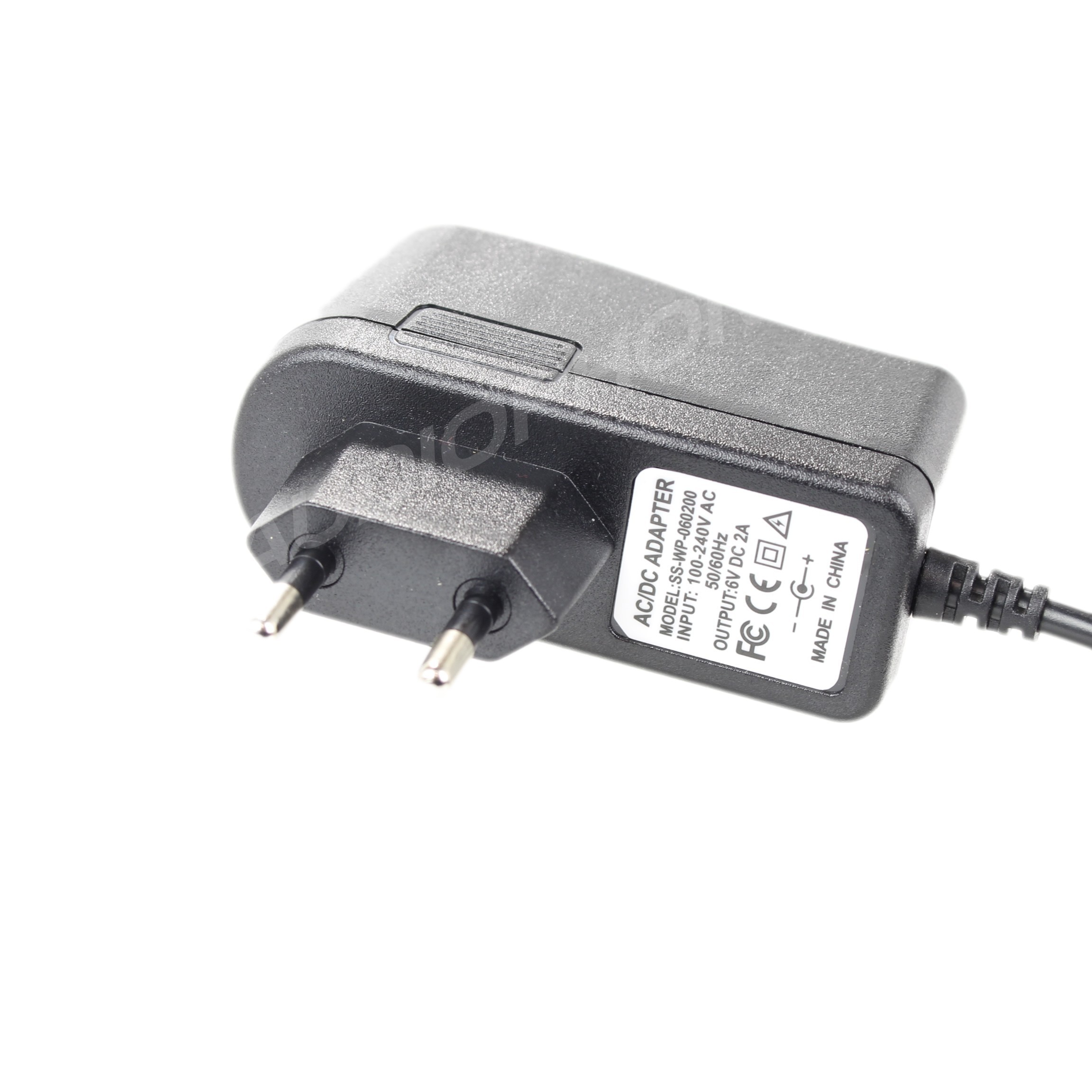 power supply adaptator 100-240V to 6V 2A DC