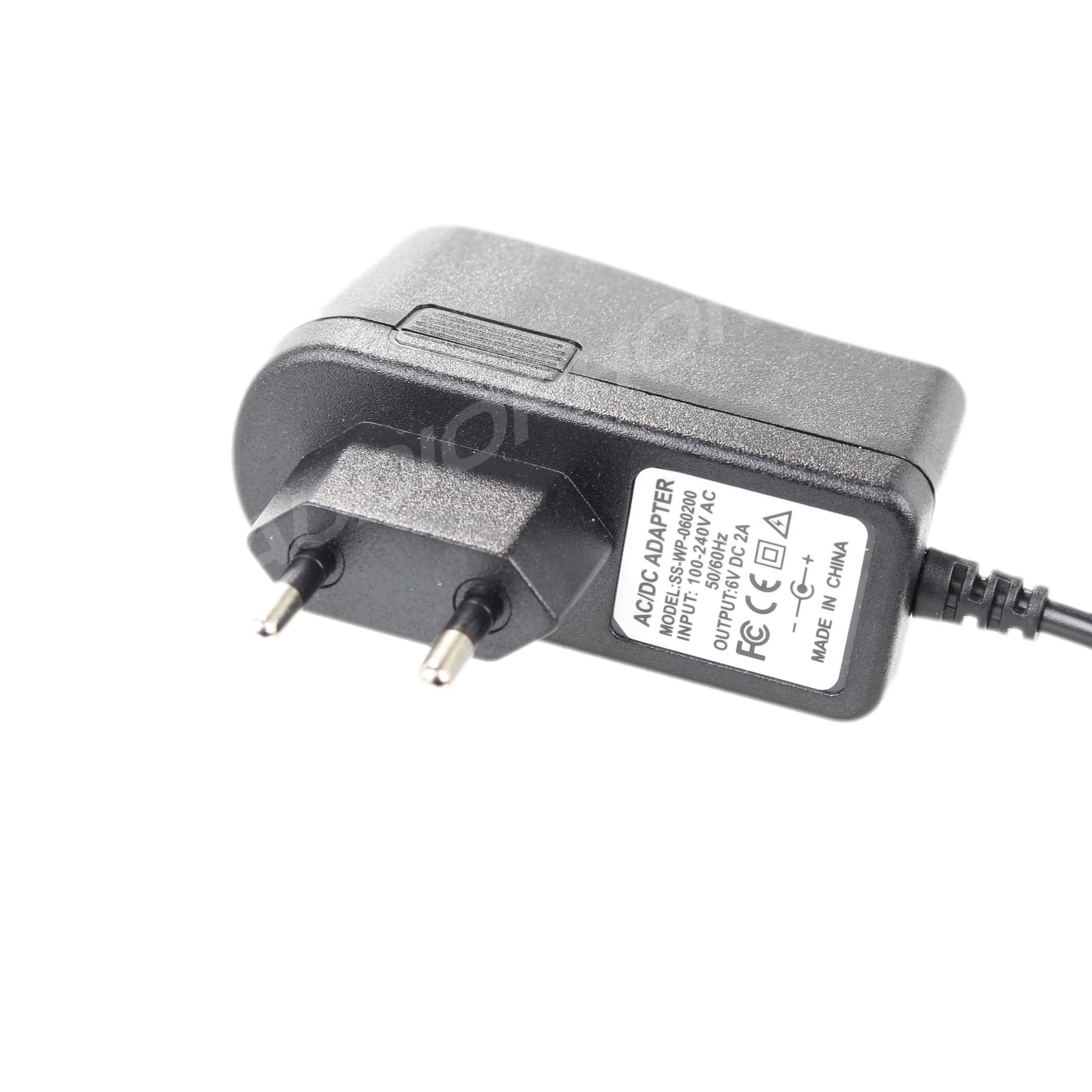 Adaptateur Secteur Alimentation 100-240V vers 6V 2A DC